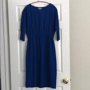 COS royal blue dress. 8